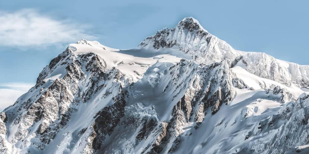 Schnee Berg Lawine BlogImage