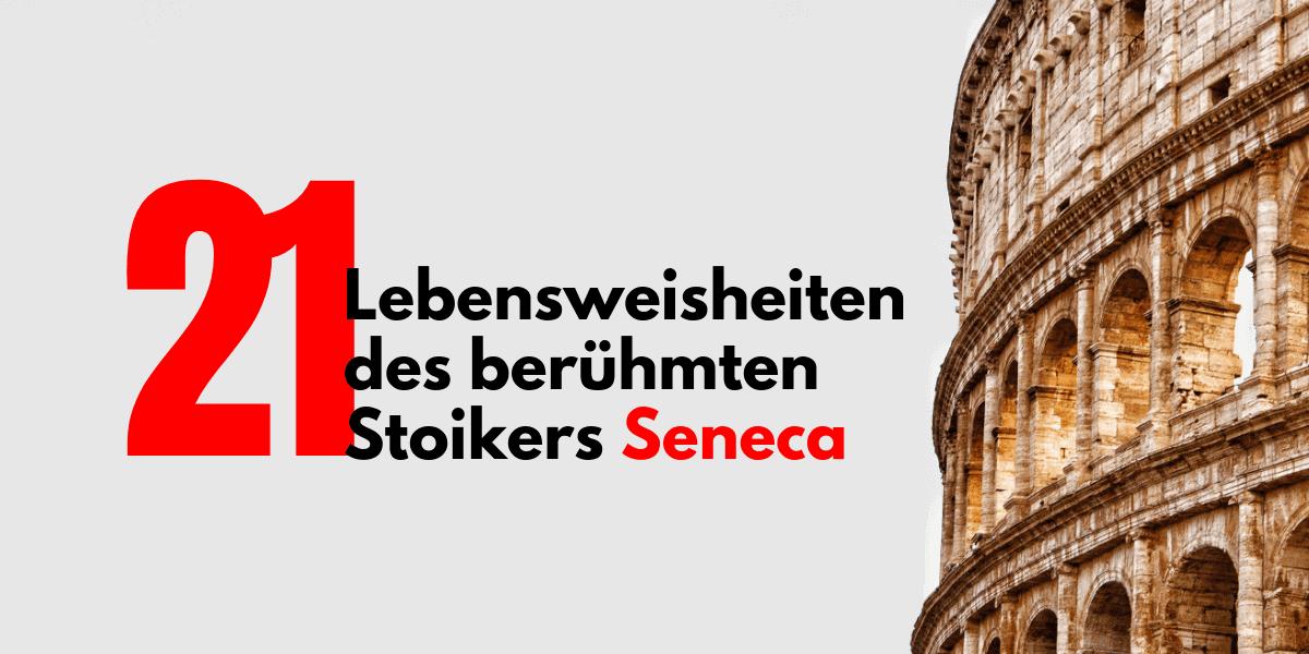 Lebensweisheiten von Seneca