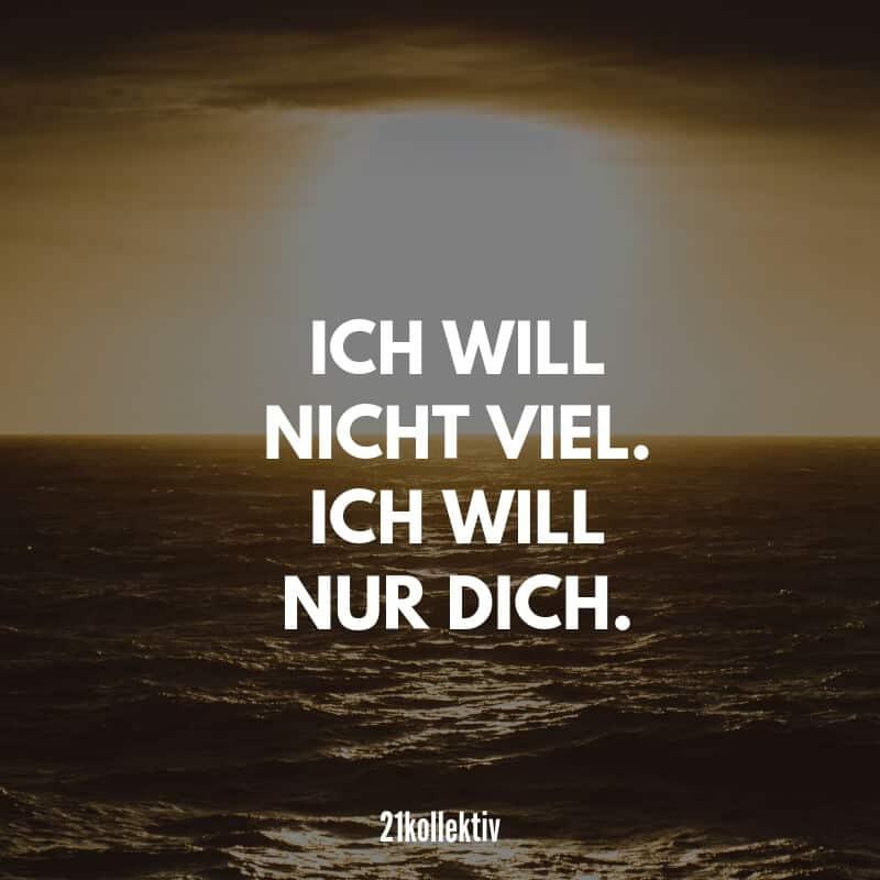Ich will nicht viel. Ich will nur dich. #liebe #liebeskummer #herzschmerz