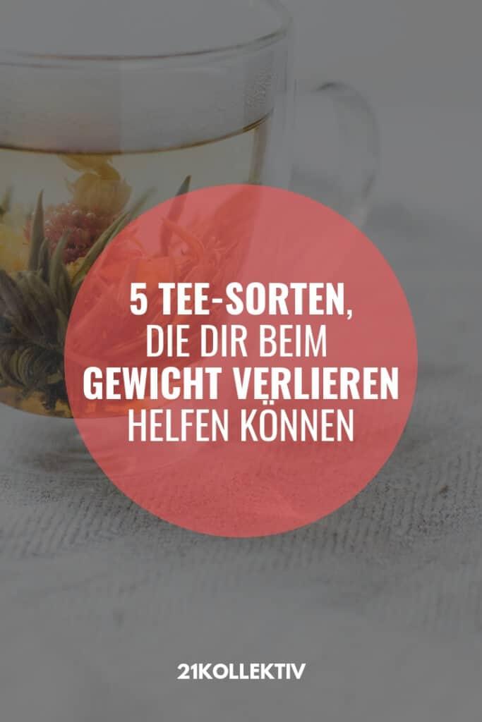 5 Tee-Sorten, die dir beim abnehmen helfen können! #diät #abnehmen #fit #tipps
