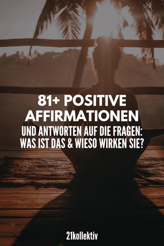81+ positive Affirmationen für die Liebe, den Job, die Gewichtsabnahme & vieles mehr! #mindset #positivität #achtsamkeit #meditation
