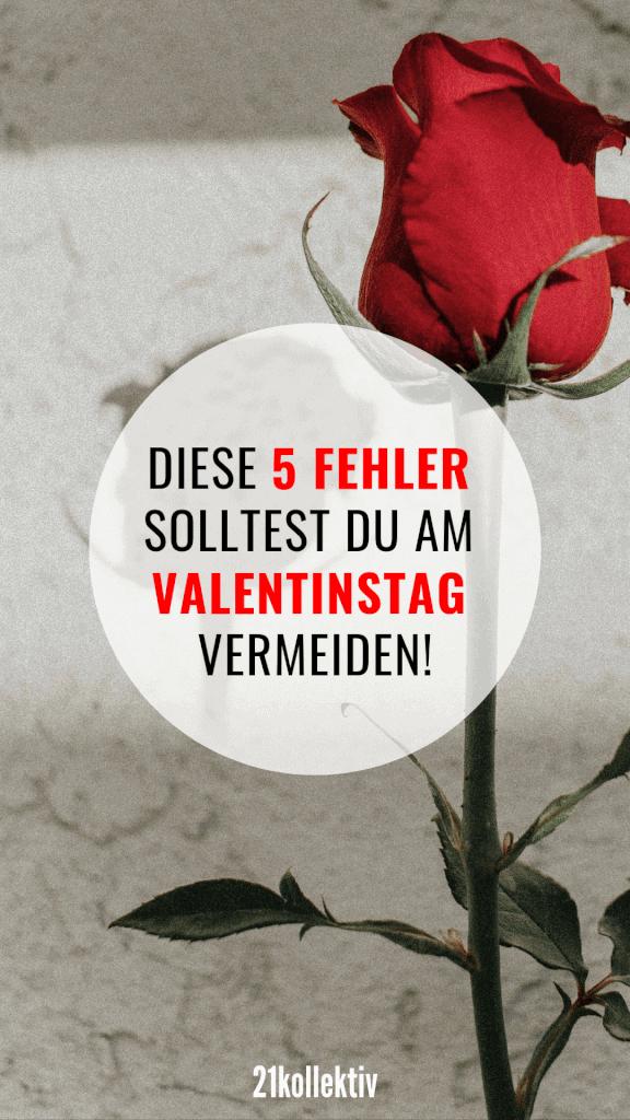 5 Dinge, die du am Valentinstag unbedingt vermeiden solltest! #liebe #partnerschaft #single