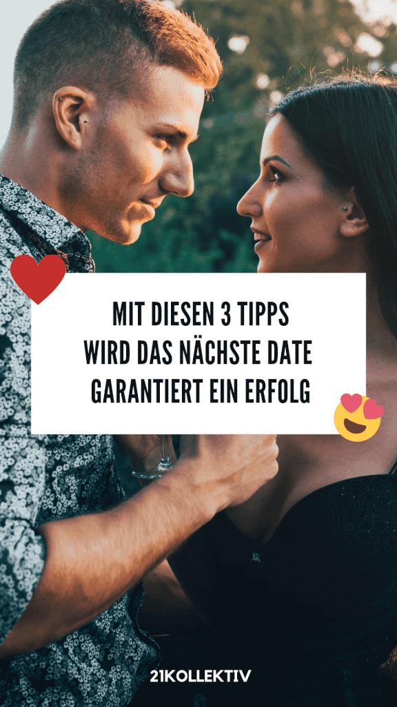 Dating-Coach verrät dir 3 Tipps, um das nächste erste Date zu einem vollen Erfolg zu machen | 21kollektiv | #single #dating #liebe