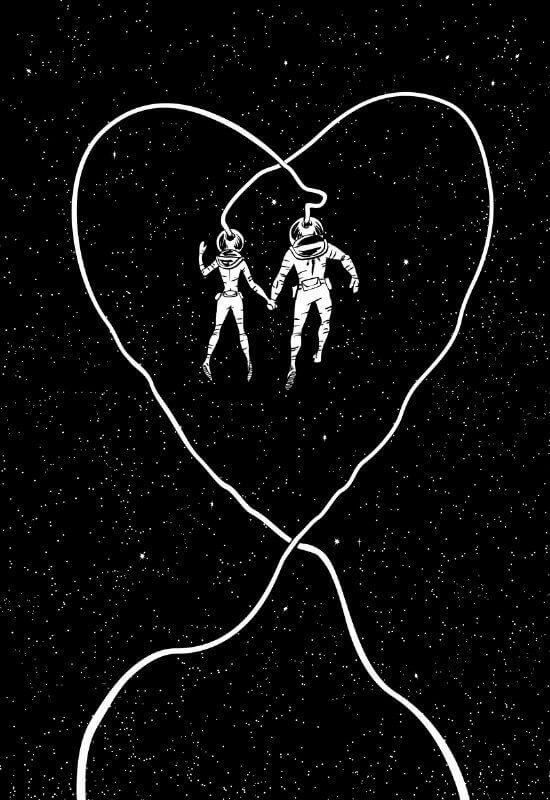 """""""Love Space"""" von Scott Brian Woods"""