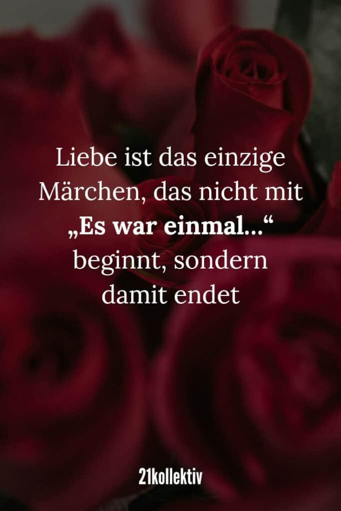 """Liebe ist das einzige Märchen, das nicht mit """"Es war einmal…"""" beginnt, sondern damit endet.   21kollektiv   #liebeskummer"""