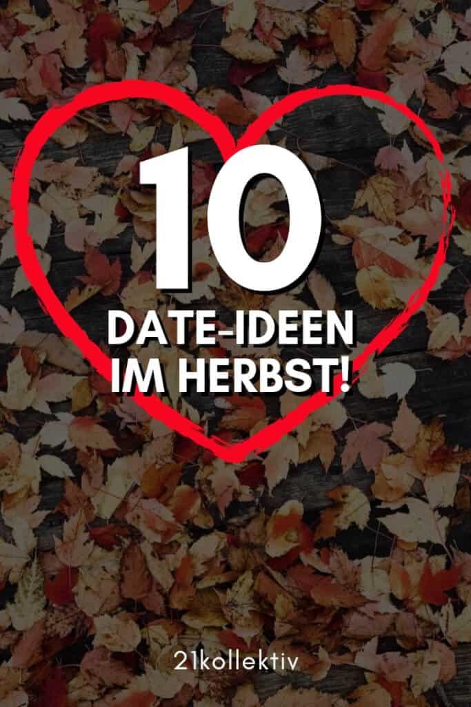 10 romantische (und spaßige) Date-Ideen für den Herbst | 21kollektiv