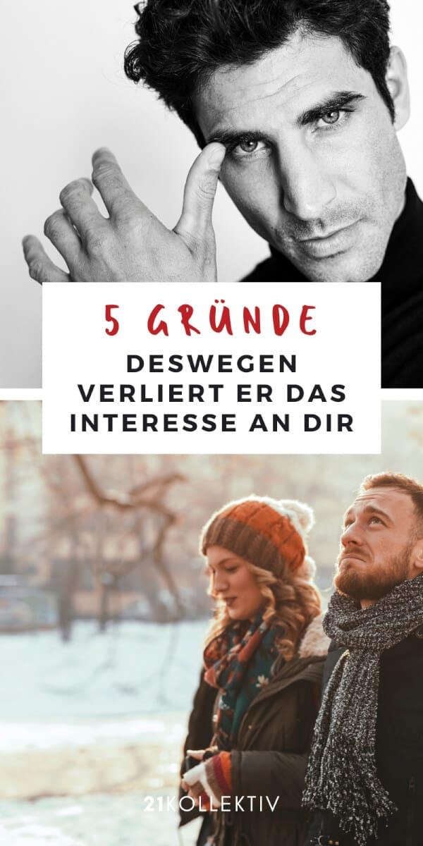 Die 5 Gründe, warum Männer plötzlich das Interesse an dir verlieren | 21kollektiv | #beziehung #single #ratgeber