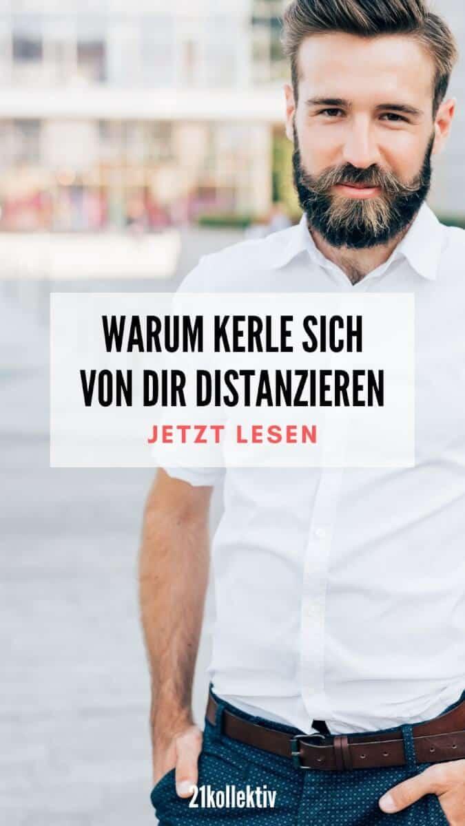 Warum Männer sich distanzieren | PinImage | 21kollektiv