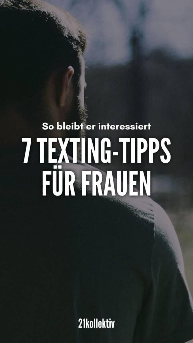 7 Texting-Tipps für Frauen: So bleibt er interessiert | 21kollektiv