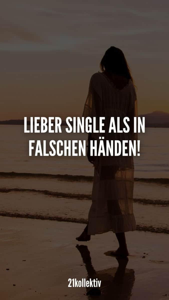 Lieber single als in falschen Händen