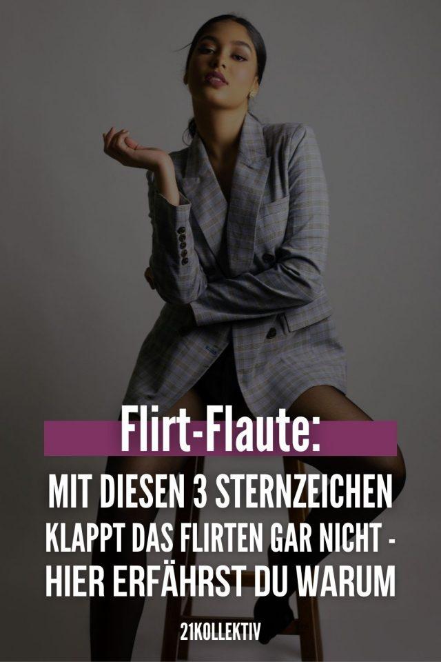 Nicht flirten können