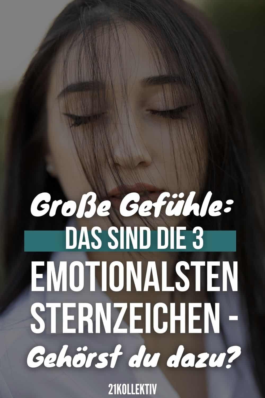 Große Gefühle: DAS sind die 3 emotionalsten Sternzeichen - Gehörst du dazu?