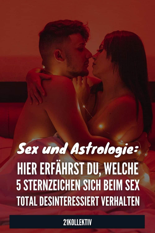 Sex und Astrologie: Hier erfährst du, welche 5 Sternzeichen sich beim Sex total desinteressiert verhalten