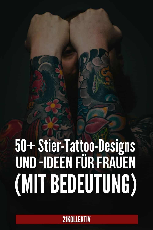 50+ Stier-Tattoo-Designs und -Ideen für Frauen (mit Bedeutung)