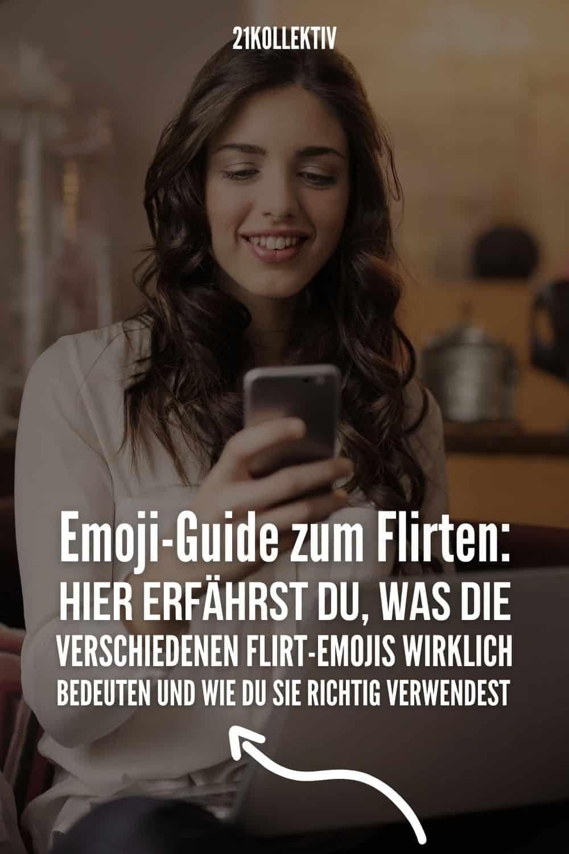 Emoji-Guide zum Flirten: HIER erfährst du, was die verschiedenen Flirt-Emojis wirklich bedeuten und wie du sie richtig verwendest