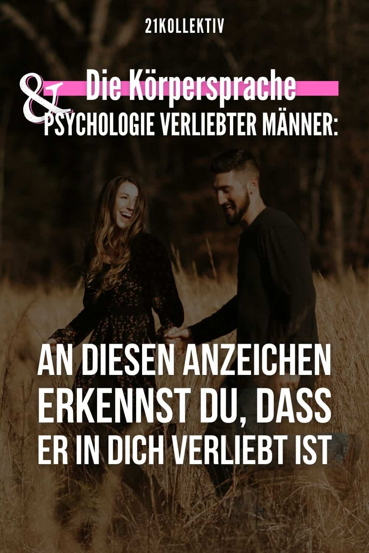 Die Körpersprache & Psychologie verliebter Männer: An DIESEN Anzeichen erkennst du, dass er in dich verliebt ist