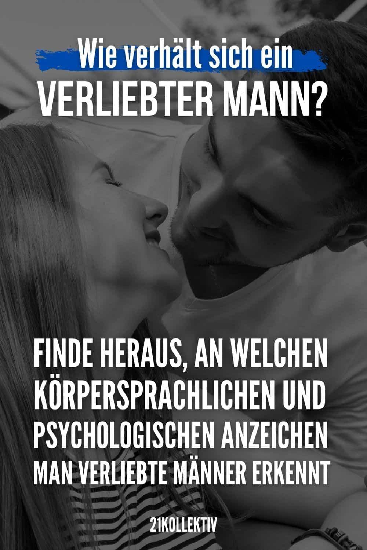 Wie verhält sich ein verliebter Mann? Finde heraus, an welchen körpersprachlichen und psychologischen Anzeichen man verliebte Männer erkennt